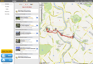 plannr - itinerary